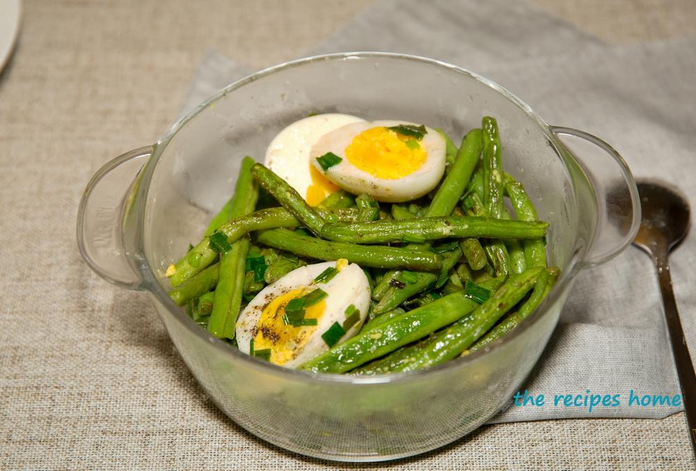 green bean egg salad recipe