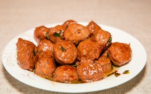 sweet and sour Beef Meatballs recipe