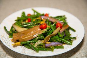 eggplant stir-fry Green Beans