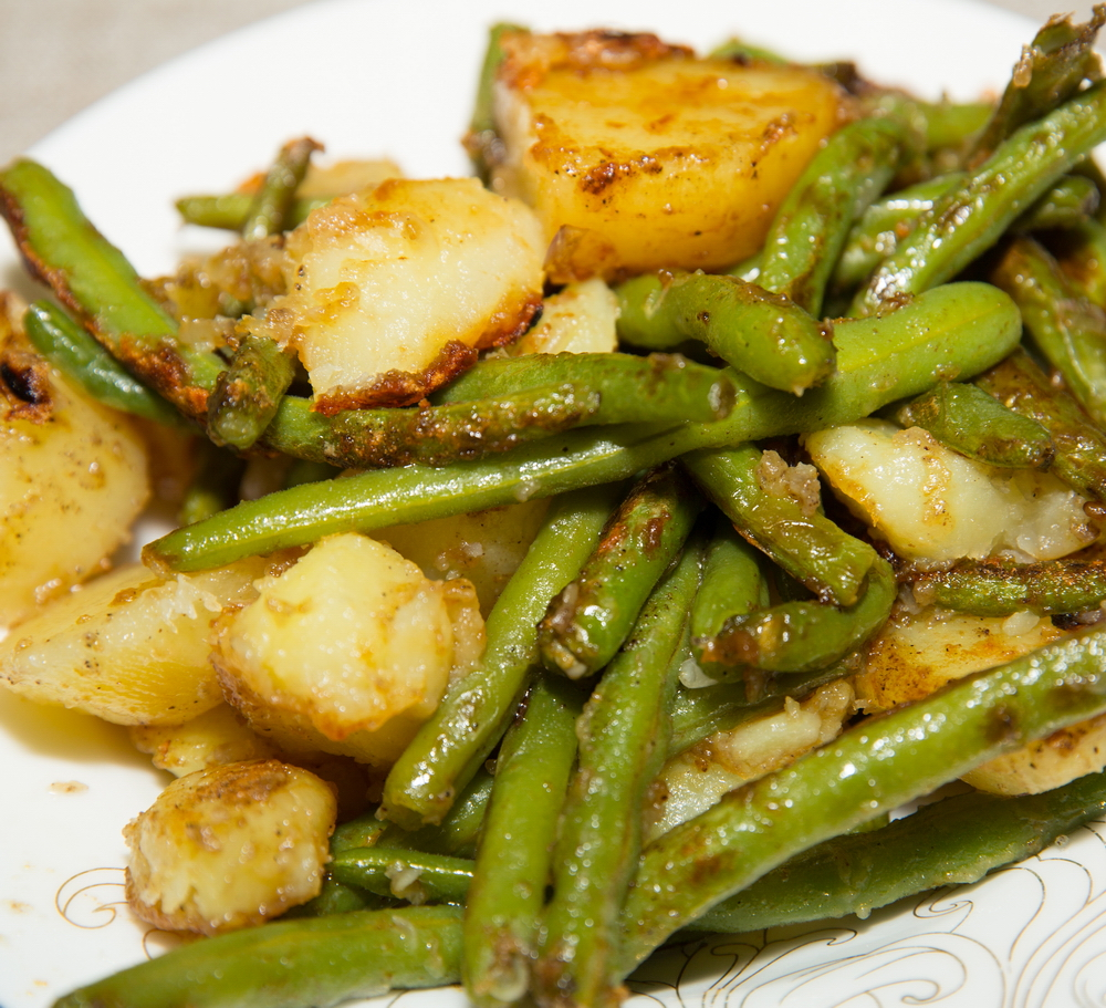 Roasted Green Beans and Potatoes recipes