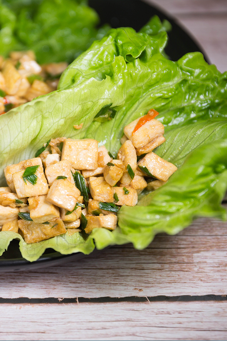 tofu lettuce wraps recipes