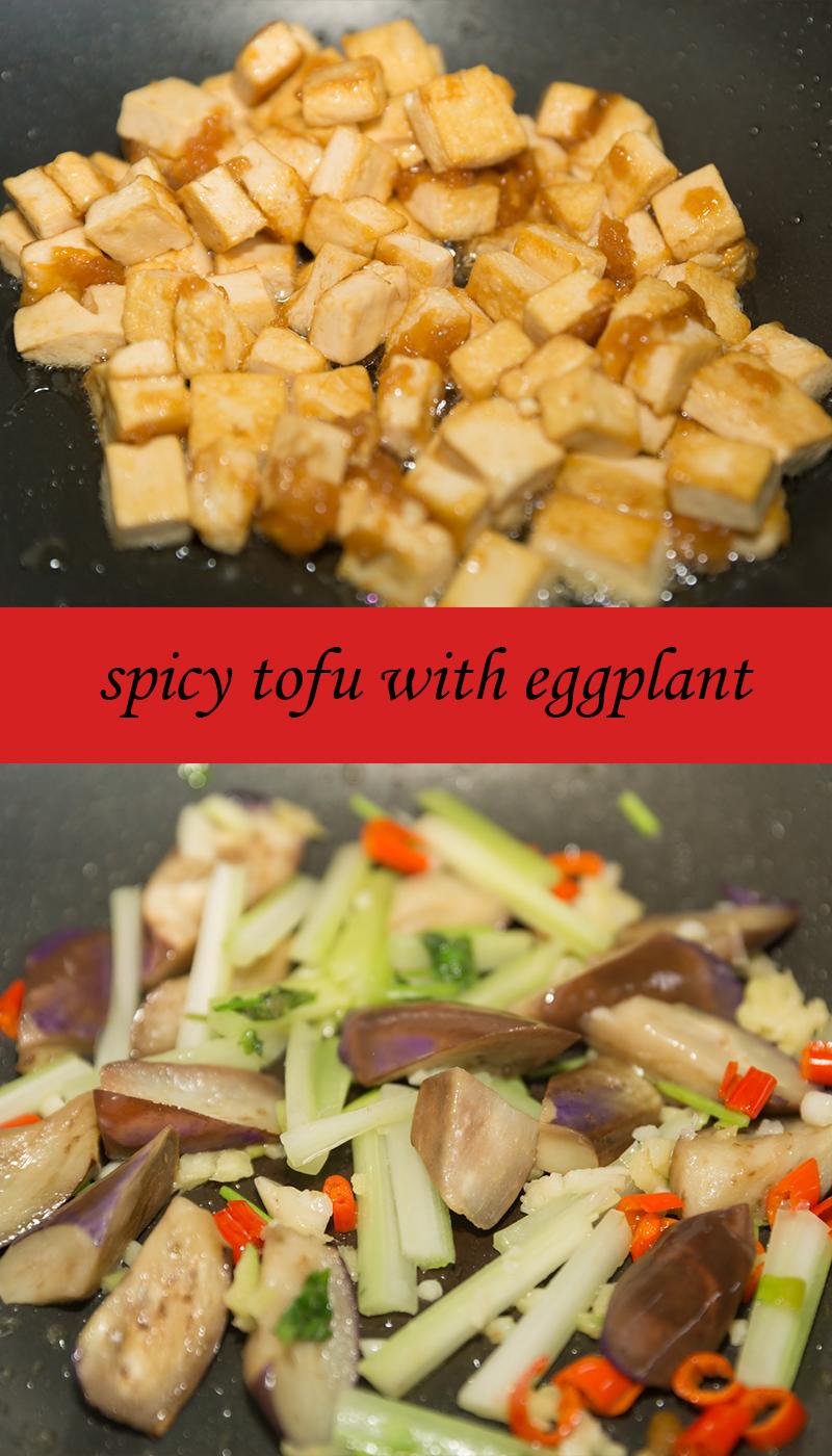 tofu and eggplant
