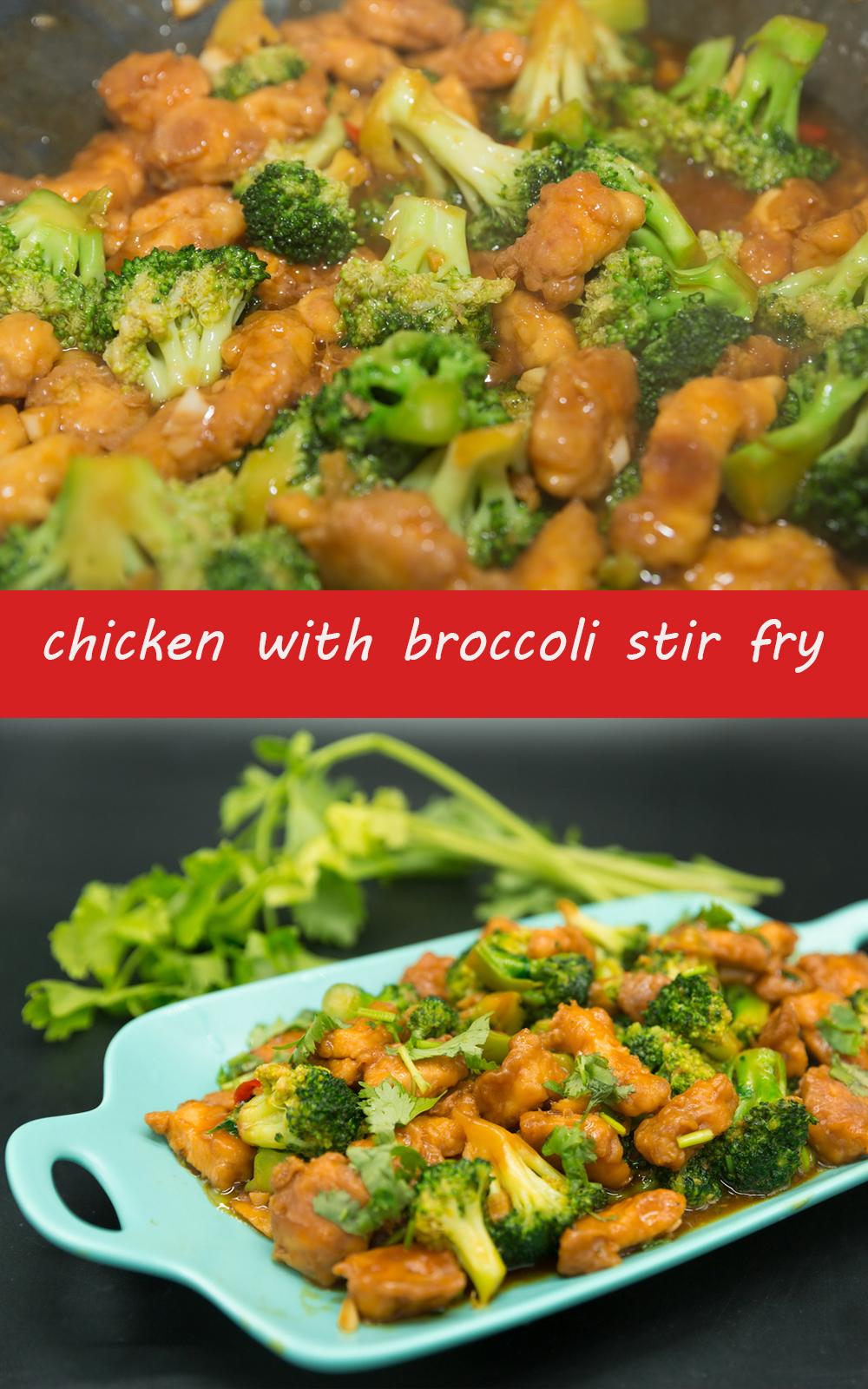 chicken with broccoli stir fry recipes