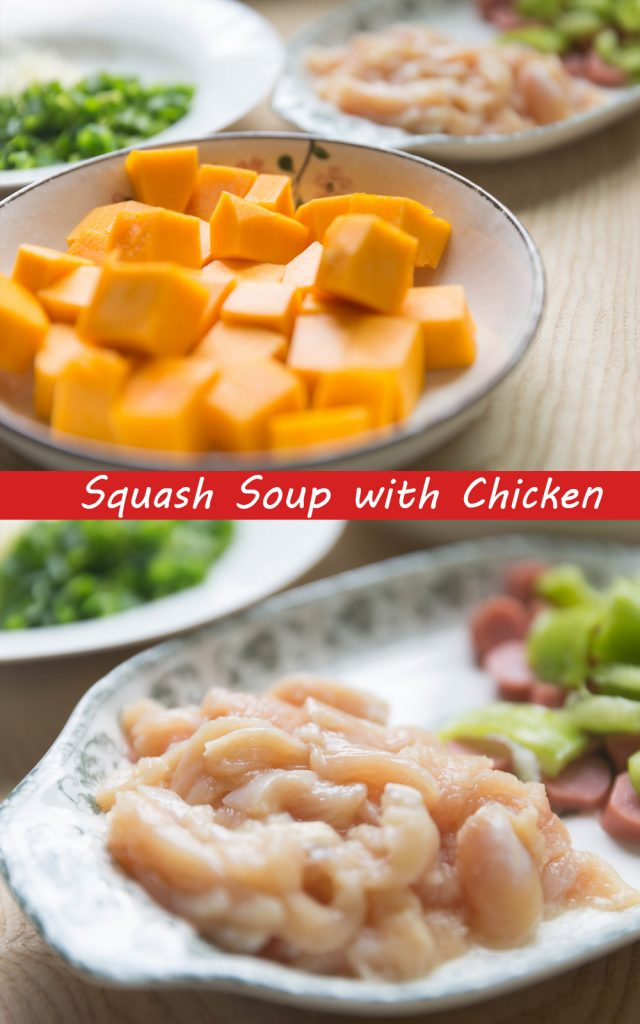 Squash with Chicken