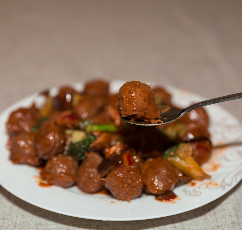 teriyaki beef meatballs and broccoli recipes