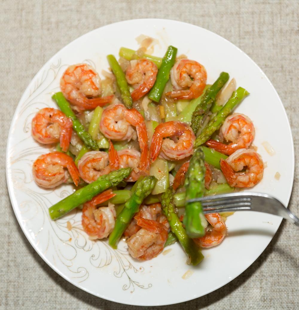 asparagus and shrimp recipes