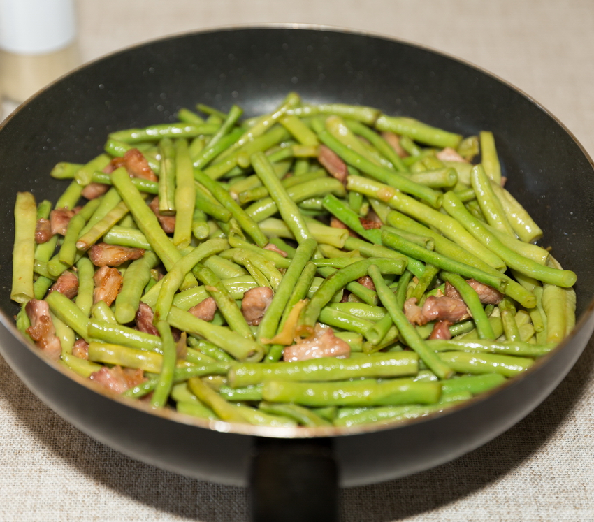 green beans with pork recipe