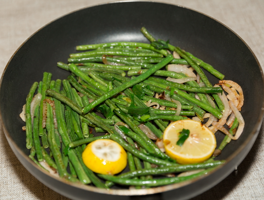 lemon green beans recipes