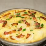 scalloped potatoes and Bacon