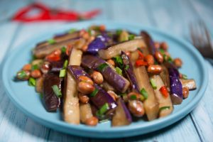 Vegan Stir-Fried Eggplant