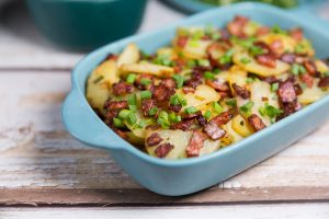 FRIED POTATOES WITH BACON RECIPES