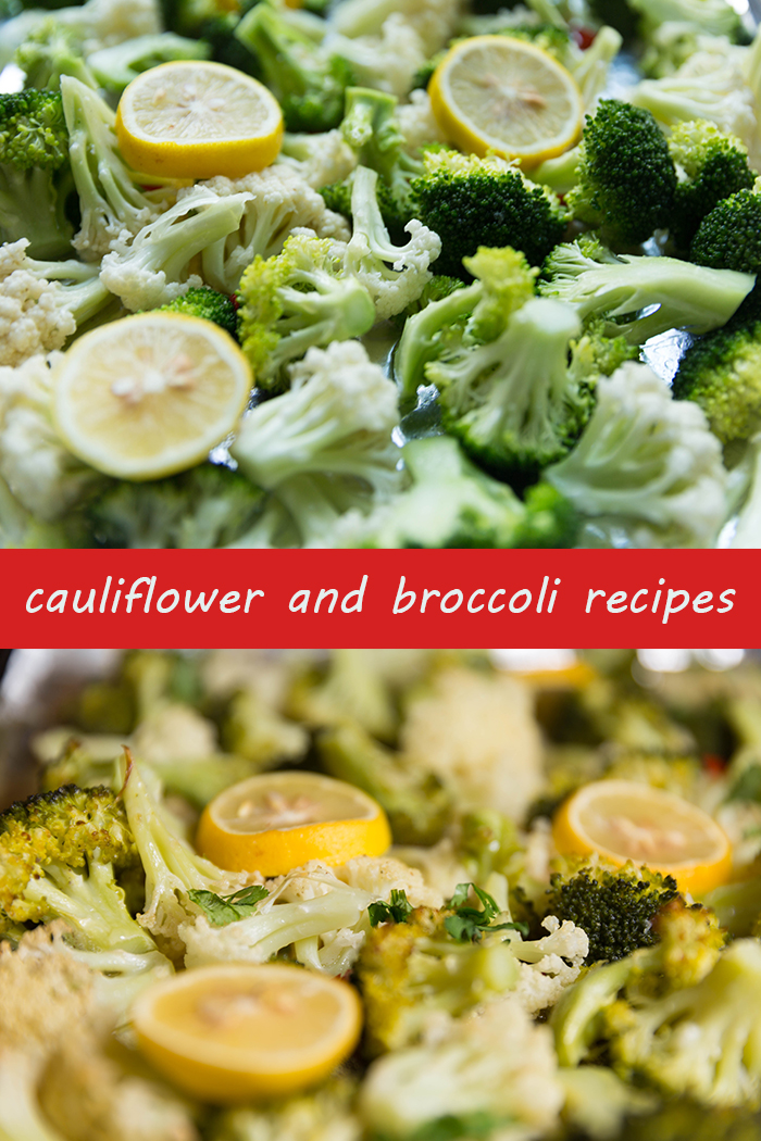 roasted cauliflower and broccoli recipes