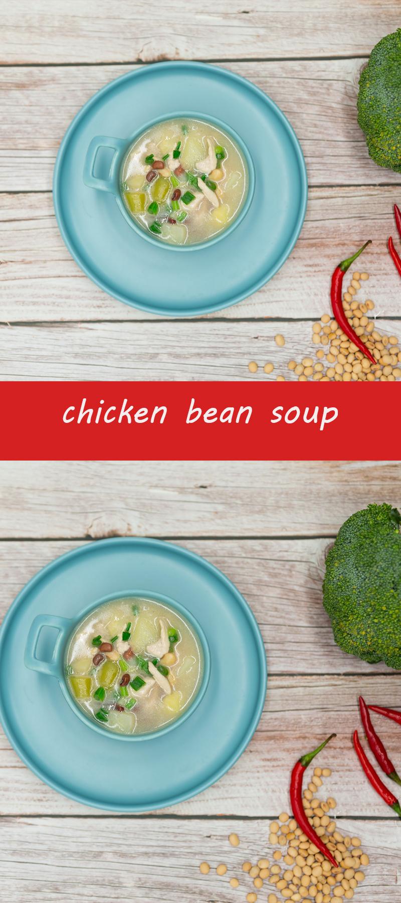 chicken bean soup recipes