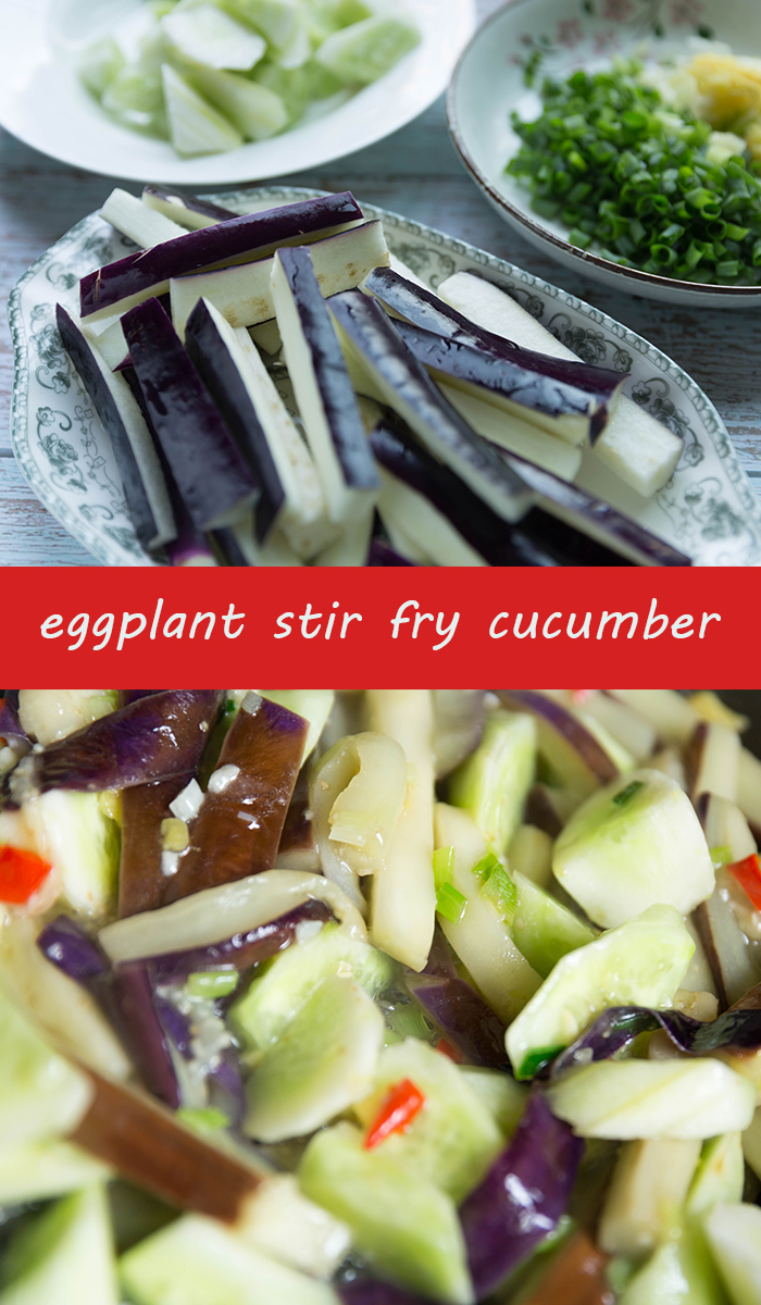 eggplant , cucumbe