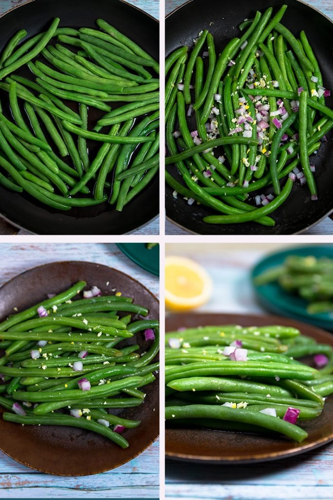 How to make a green bean salad recipe!