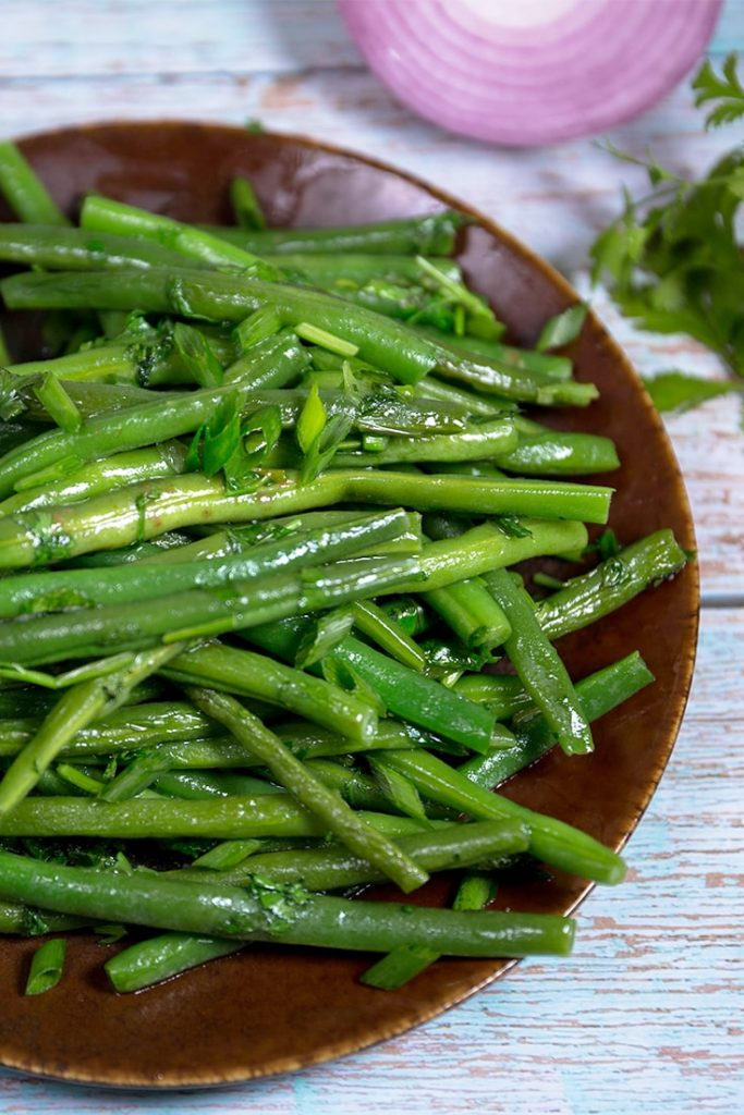 How to make this sautéed green beans recipe