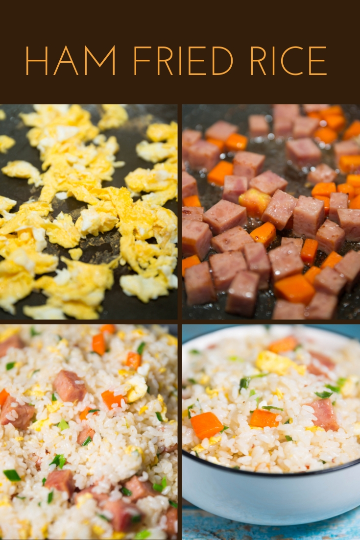 How to Make Ham Fried Rice !
