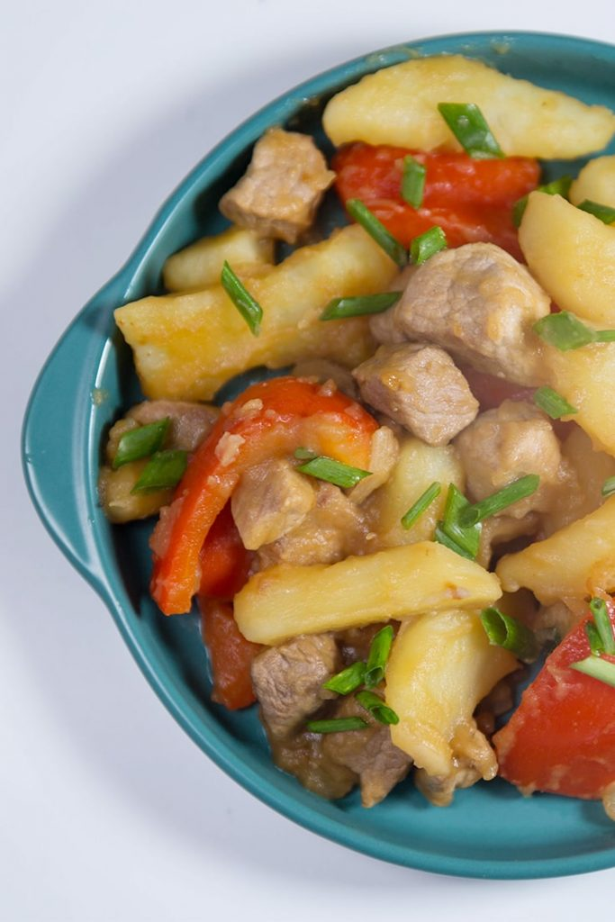 pork with potatoes recipes