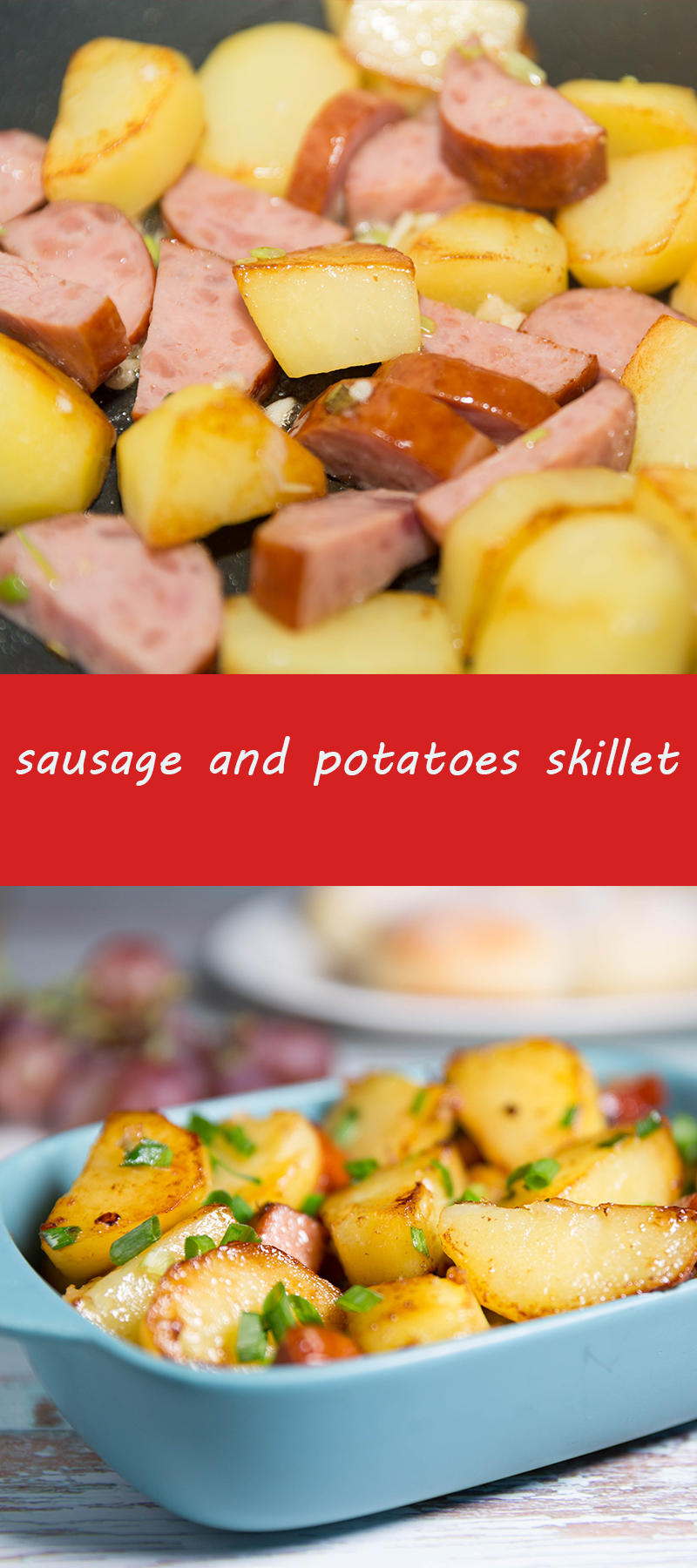 sausage and potatoes skillet
