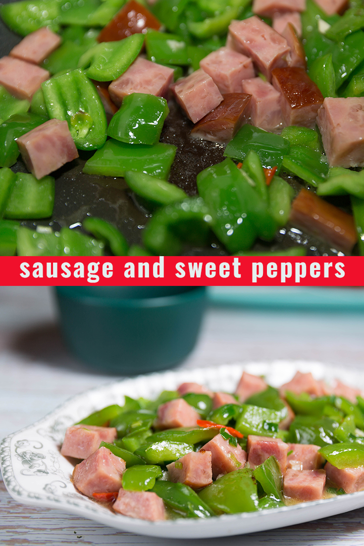 sausage and sweet peppers