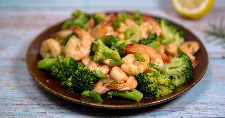 shrimp and broccoli recipe