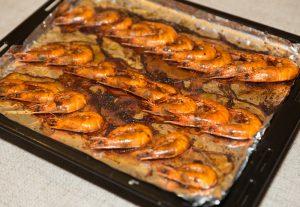 Chili Baked Shrimp