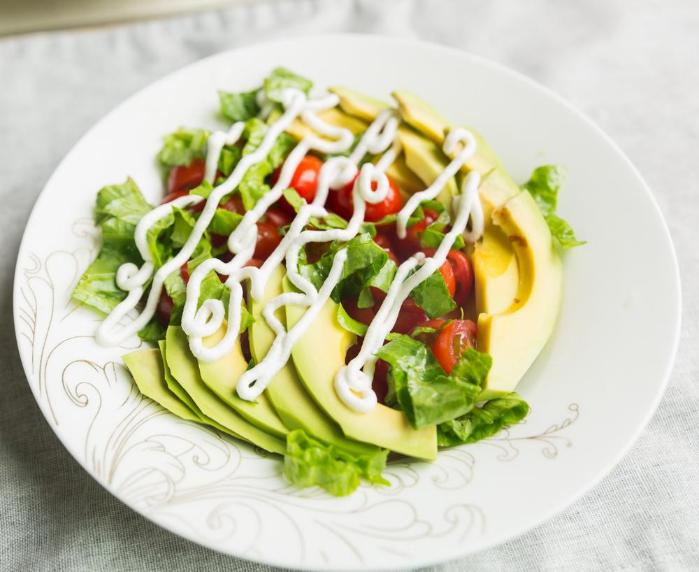 cherry tomato avocado