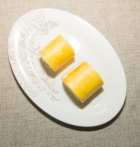 cream pinwheels Cake
