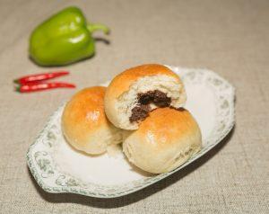 Red Bean Bread Rolls