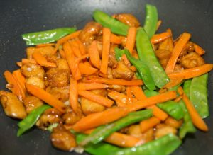 chicken stir fry carrots