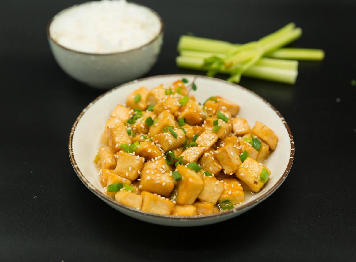sticky tofu recipes