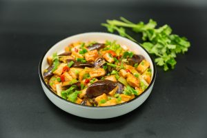 spicy tofu with eggplant