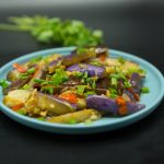 eggplant with garlic recipes