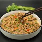eggplant with minced pork