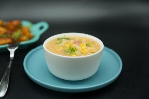 ham potato & corn chowder