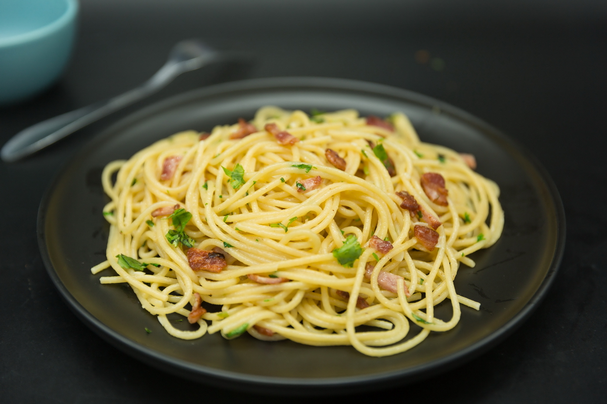 bacon spaghetti recipes