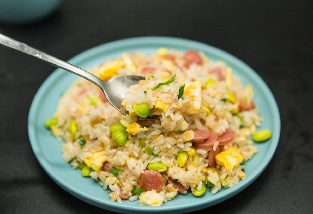 sausage fried rice recipes