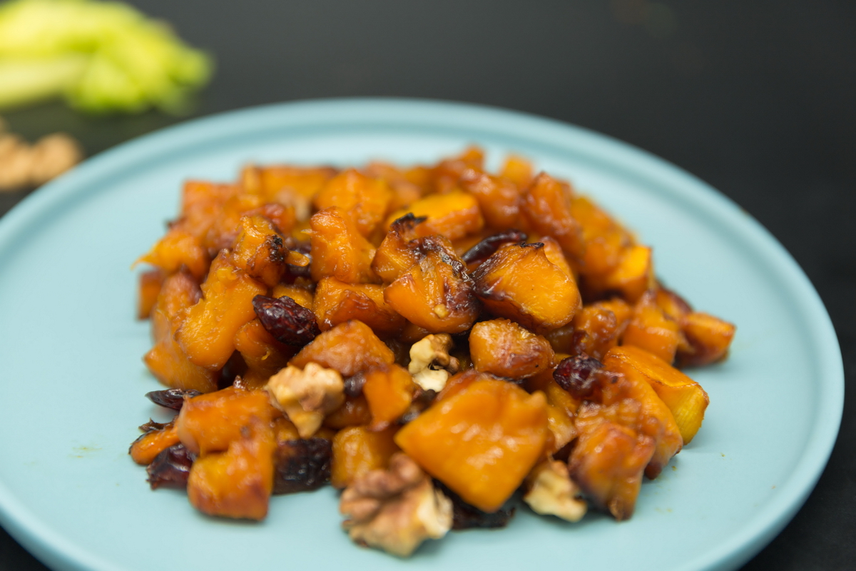 pecan roasted butternut squash