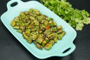 easy baked okra