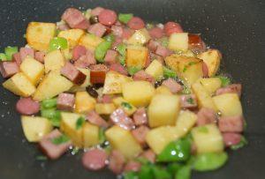 ham and potato