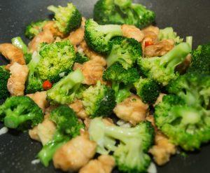 chicken with broccoli stir fry