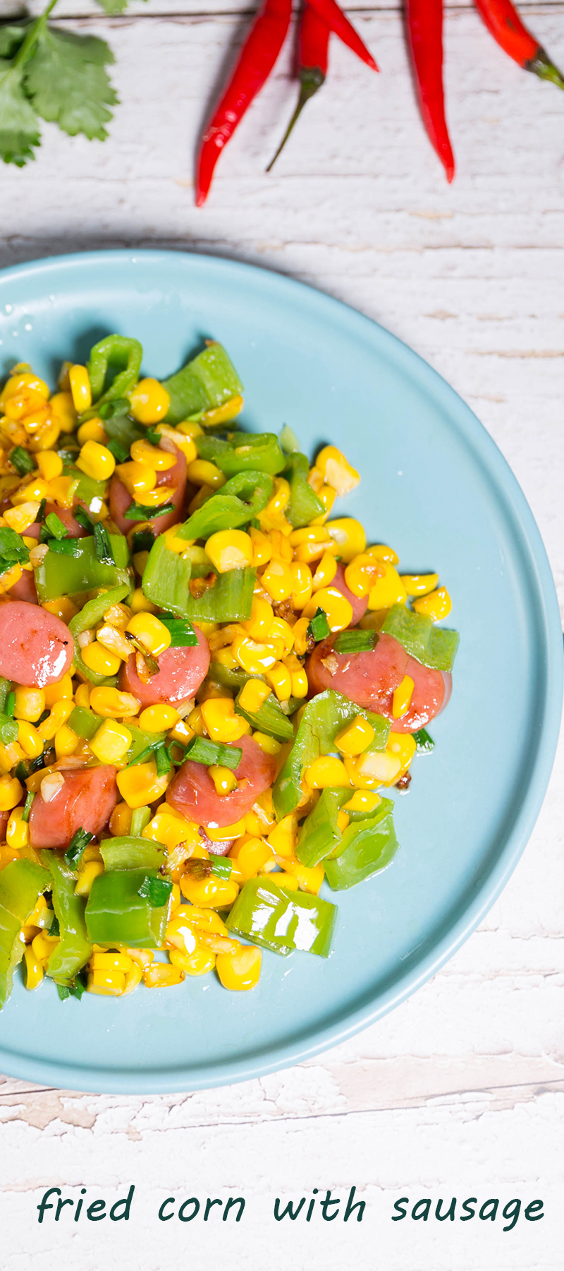 fried-corn-with-sausage-recipes