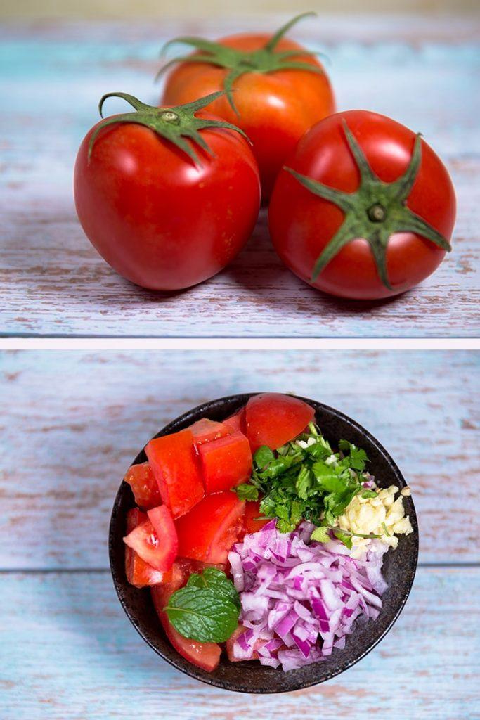 summer tomato salad