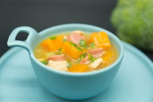 Squash Soup with Chicken