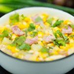 potato corn soup with Bacon