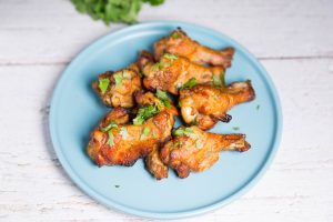 dry bub chicken wings