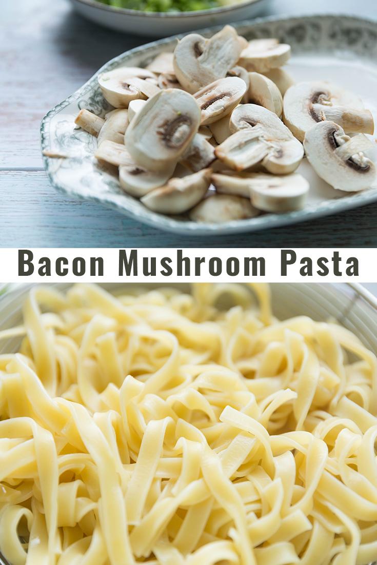 Bacon Mushroom