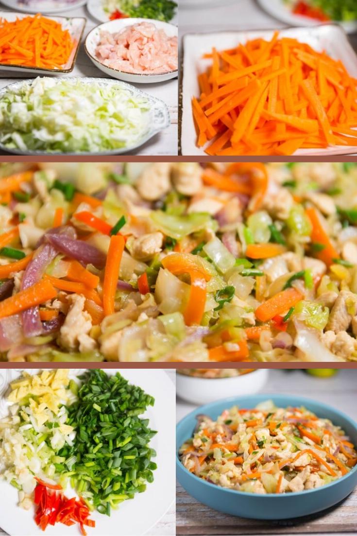 ground beef, ground turkey, or ground chicken recipe and cabbage