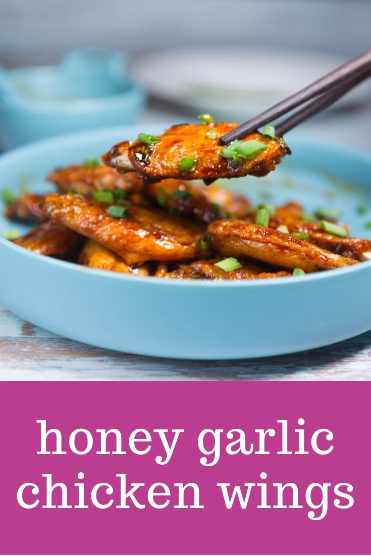 honey garlic chicken wings recipes