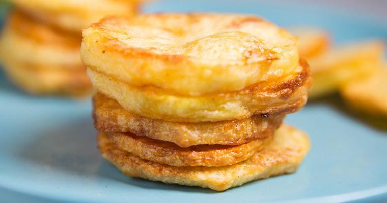 oven baked potato slices